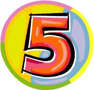 5 passi