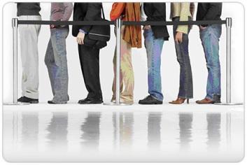 Gente in fila